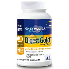 21 capsules Enzymedica Digest Gold with ATPro