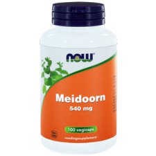 100 capsules NOW Foods Meidoorn 540 mg