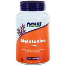 180 capsules NOW Foods Melatonine 3 mg