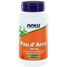 100 capsules NOW Foods Pau D' Arco 500 mg