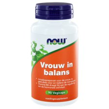 90 capsules NOW Foods Vrouw in Balans
