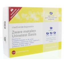 1 exemplaar Medivere Zware Metalen Urinetest Basis