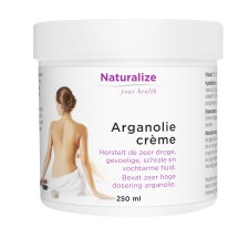 250 ml Naturalize Your Health Arganolie Creme