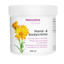250 ml Naturalize Your Health Hand- & Bodycreme