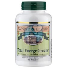 120 tabletten Sunny Green Total Energy Greens