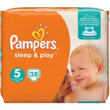 38 stuks Pampers Sleep & Play Junior S5