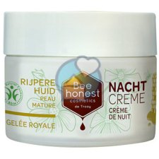 50 ml Bee Honest Gelee Royale Nachtcreme