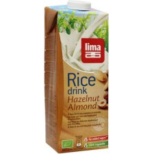 1000 ml Lima Rice Drink Hazelnut Almond Biologisch