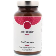 100 tabletten Best Choice Botformule