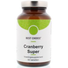 60 tabletten Best Choice Cranberry Super