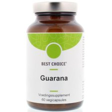 60 capsules Best Choice Guarana