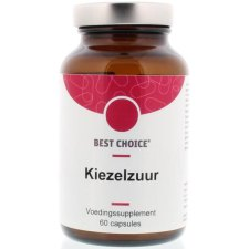 60 capsules Best Choice Kiezelzuur Plus