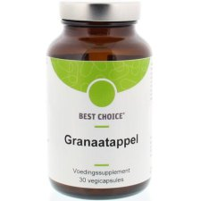 30 capsules Best Choice Granaatappel