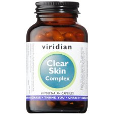 60 capsules Viridian Clear Skin Complex