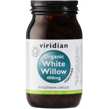 90 capsules Viridian White Willow 400 mg Biologisch