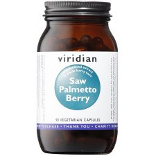 90 capsules Viridian Saw Palmetto Berry