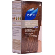 1 verpakking Phyto Paris Phyto Color Permanent Color-Treatment Donkerblond 6