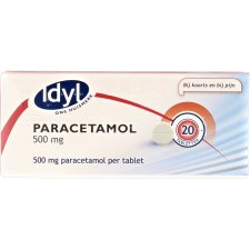 20 tabletten Idyl Paracetamol 500 mg