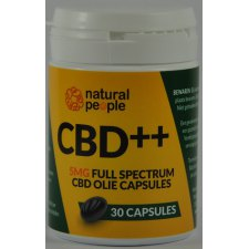30 capsules Natural People CBD ++