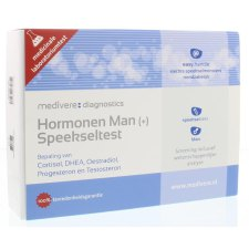 1 test Medivere Hormonen Man (+) Speekseltest
