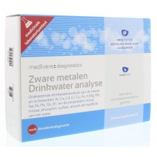 1 test Medivere Zware Metalen Drinkwater Analyse