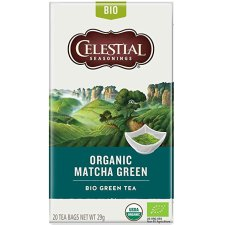 20 builtjes Celestial Seasonings Matcha Green Tea Biologisch