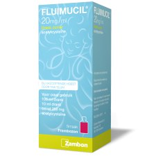 100 ml Fluimucil Drank Junior Acetylcysteine