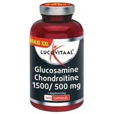360 tabletten Lucovitaal Glucosamine 1500 mg Chondroitine 500 mg