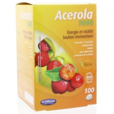 100 tabletten Orthonat Acerola 1000