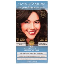 1 verpakking Tints of Nature 4N Natural Medium Brown