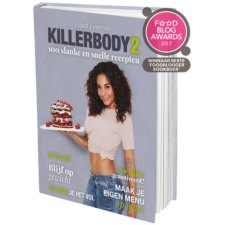 1 boek MKBM My KillerBody Motivation Killerbody 2 Receptenboek