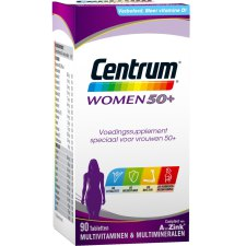 90 tabletten Centrum Women 50+