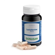 60 capsules Bonusan Lactoferrine 150 mg