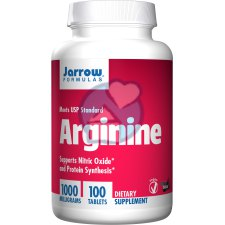 100 tabletten Jarrow Formulas Arginine 1000 mg