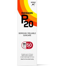 100 ml Riemann P20 Zonnefilter Spray SPF50+