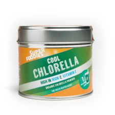 75 gram Superfoodies Cool Chlorella Poeder Biologisch