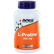 120 capsules NOW Foods L-Proline 500mg