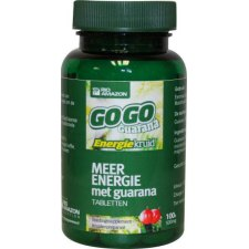 100 tabletten Rio Amazon Gogo Guarana Meer Energie