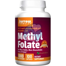100 capsules Jarrow Formulas Methyl Folate 1000 mcg