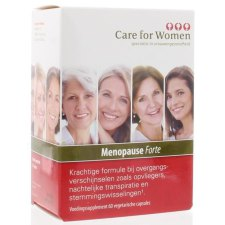 60 capsules Care for Women Menopause Forte