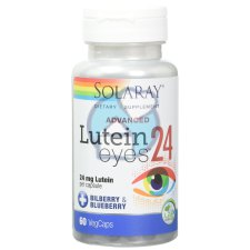 30 capsules Solaray Lutein Eyes 24 mg