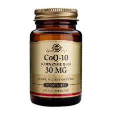 30 softgels Solgar CoQ-10 30 mg