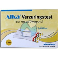 15 stuks AlkaVitae Verzuringstest pH Strips