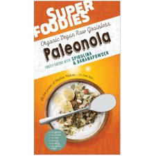200 gram Superfoodies Paleonola Fruity Greens with Spirulina & Bananapowder