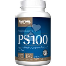 120 softgels Jarrow Formulas PS 100 Fosfatidylserine Sojavrij