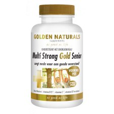180 capsules Golden Naturals Multi Strong Gold Senior Voordeelpot