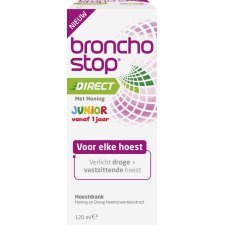 120 ml Bronchostop Direct met Honing Junior