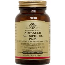 60 capsules Solgar Advanced Acidophilus Plus