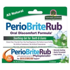 14 gram Natures Answer PerioBrite Rub Coolmint