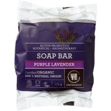 175 gram Urtekram Purple Lavender Soap Bar